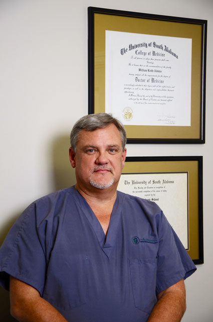 W. Keith Adkins, M.D., Ph.D., FACS